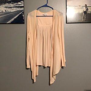 Sweaters - Lightweight long sleeve cardigan